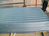 10 /16/22 gauge welded wire mesh/Galvanized Welded wire mesh coil/panel