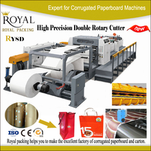 RYSD Double rotary blade Paper Roll Cutter industrial paper cutter