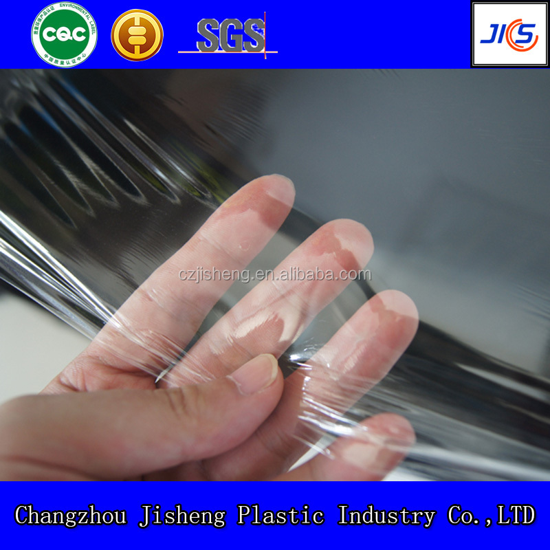 6000m length quality transparent pvc thin film