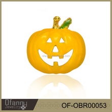 2015 new design fashion jewelry halloween pumpkin