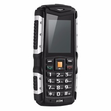 AGM M1 Tri-proof China Mobile Phone IP68 Waterproof 2.0inch 128MB+64MB 2.0MP Rear Camera 2570mAh Dual SIM Feature Phone