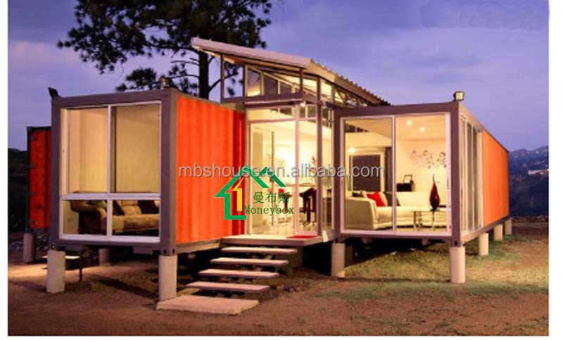 Cheap Prefab Home Container Booth For Sale 20ft Prefabricated Container House For Sale With Iso