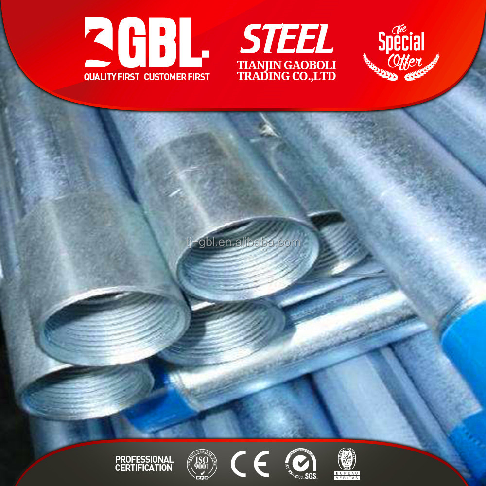 hollow structural steel pipe Accepted Customized Pre-Galvanized round steel pipe tube API ASTM