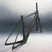 Workswell New arrival carbon cyclocross frame Flat mount Disc Brake Bike frame
