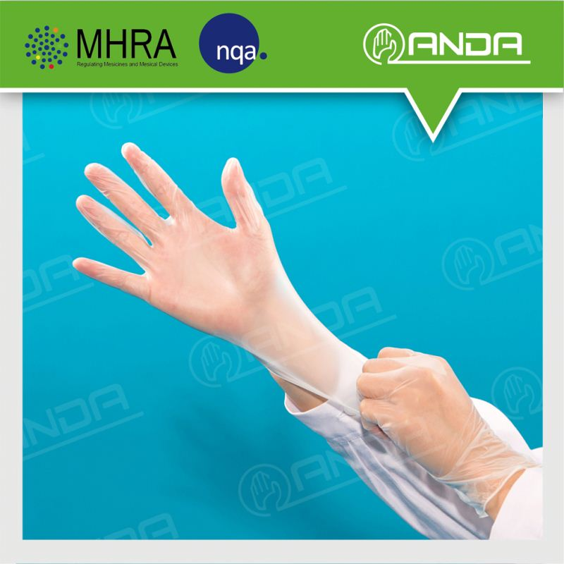AD004 Protecting daily use dye hair vinyl gloves for health