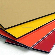 4x8 waterproof facade aluminium composite panel acp building wall cladding material
