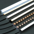 Aluminum Extrusion Profile With Milky/ Clear Cover LED Linear Light