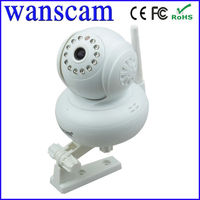 Hot P2P Plug and Play IP Cam Two Way Audio Night Vision 10 M Pan Tilt Rotating Base IP Camera