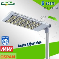 High power waterproof parking lot light 300W 200W solar LED street light with module design
