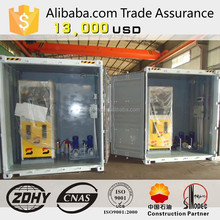 Container mobile gas stations, diesel and gasoline storage tanks, generators