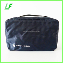 Travel Toiletry Bag Nylon Men Cosmetic Case Makeup Beauty Bag with Hanging