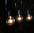 G40 globe string lights C7 spool E12 sockets garden patio string lights