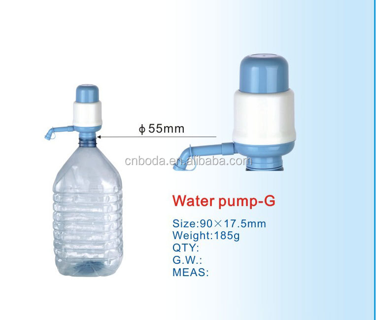 manual irrigation pumps for drinking bottled water