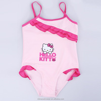 Hot selling little bikini models spandex kid swimwear children photo sex with low price