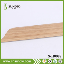 PVC extrusion wood texture moulding decorative interior skirting boards