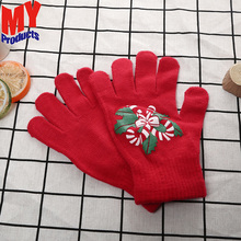 Kids cooking gloves boxing gloves custom logo industrial cotton glove