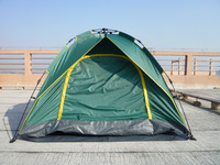 Double layer quick open camping and holiday 4 persons tents