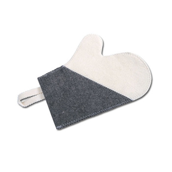 Wool Sauna glove