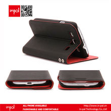 Stylish multifunctional PU leather wallet case for iphone 5 and samsung S3 by shenzhen manufacturer