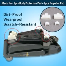 3D Printed Mavic Pro Body Protection Pad + Blade Propeller Pad Heightening Pad for DJI Mavic Dirt-Proof Wearproof Scratch-Resist