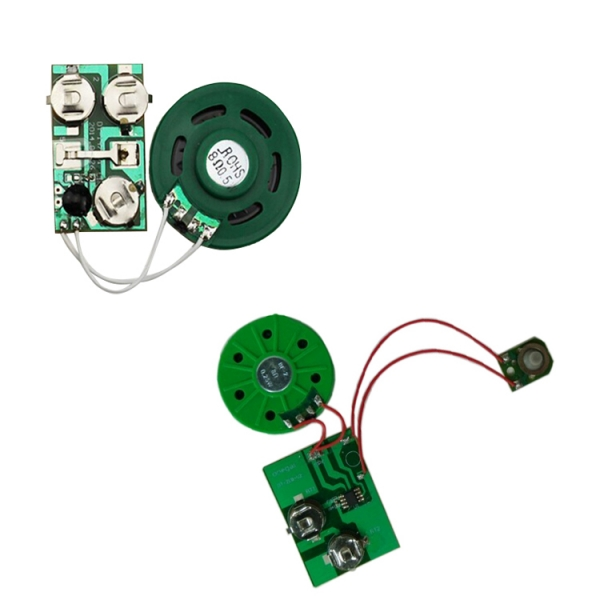 Various of activated Way sound chip for music card