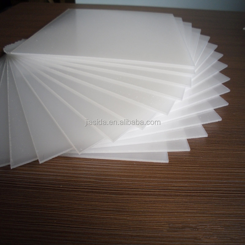 JIASIDA Good Quanlity Light Diffuser Sheet / LED Light Diffusest Sheet