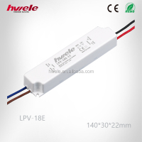 LPV-18E LED driver with SGS,CE,ROHS,TUV,KC,CCC certification