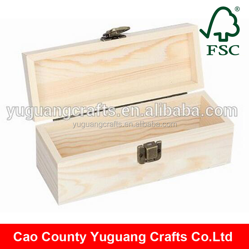 Yuguang Crafts Creative Pine Wood Wood Treasure Box