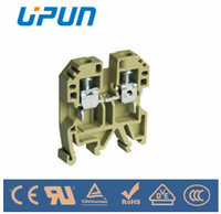 Shanghai manufacture supplier electrical industrial connectors screw clamp terminal blocks USK-6