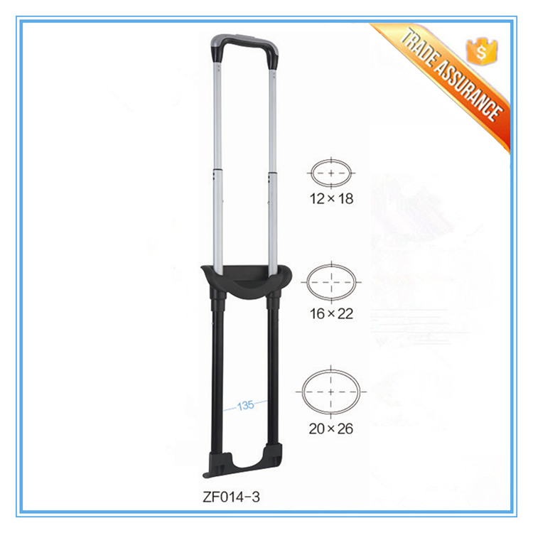 Aluminum Retractable Trolley Telescopic Luggage Cart Handles