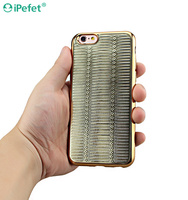 Luxury Shining Crystal TPU Electroplating Bumper Embossed Cell Phone Case For iPhone 6/s