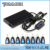 Universal slim notebook charger with usb and lcd