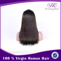 Wholesale Products Long Straight Human Hair Good Quality Wigs White Women
