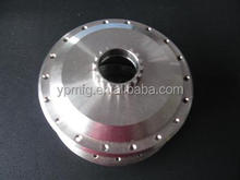 Oem high precision metal machining cnc turning parts aluminum alloy wheel hub