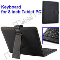Cheap Ultrathin 8 inch Tablet PC Case with Keyboard with Touch Pen for Android Tablet