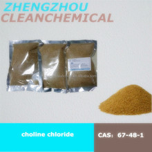 60% 75% Choline chloride (on vegetable carrier) Organic chemiclas