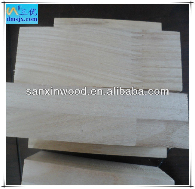 Paulownia finger jointed & composite boards