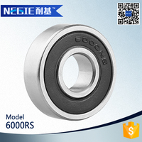 China supplier Cixi Negie factory made high speed precision 6000 motorcycle ceramic wheel bearing