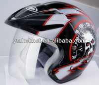 YM-602 ECE open half face helmet supplier in China motorcycle helmet