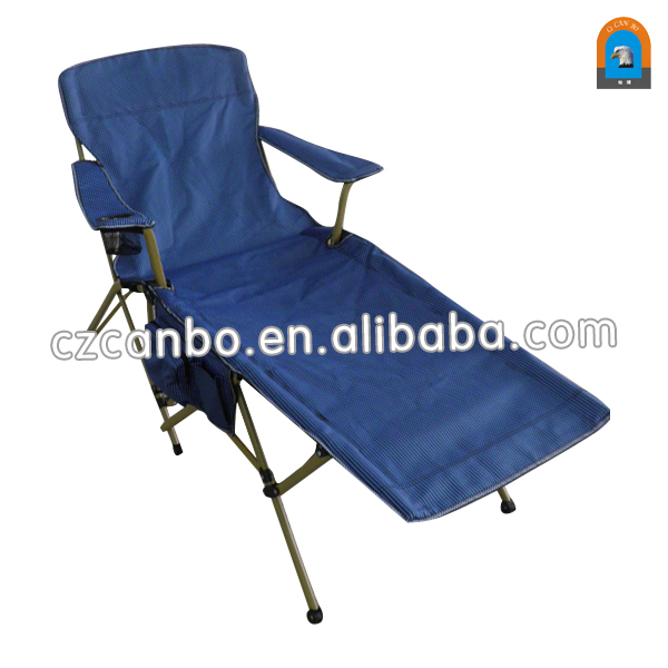 cb145 heavy duty foldable reclining beach lounge chair with stronge steel frame - Heavy Duty Folding Chairs