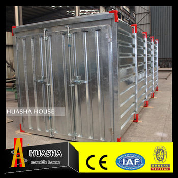 Factory production directly and can be customized storage container homes