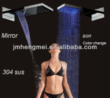 bathroom shower fancy led rgb curtain accessories fixture 304 stainless steel bathroom shower
