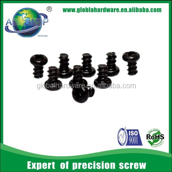 JSCREW hot sale M3.5 Pan Head Philips Double Threaded Self Tapping Screws for PVC, ABS Plastic Products