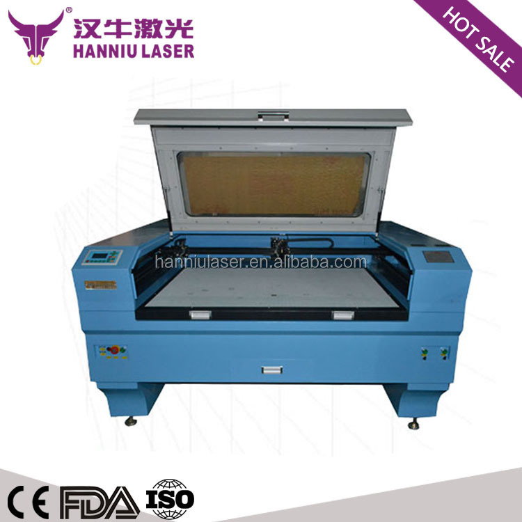 used small LK-1610 co2 laser acrylic fabric cutting machine price