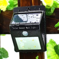 Waterproof Decorative Solar Led Wall Lighting for garden yard use