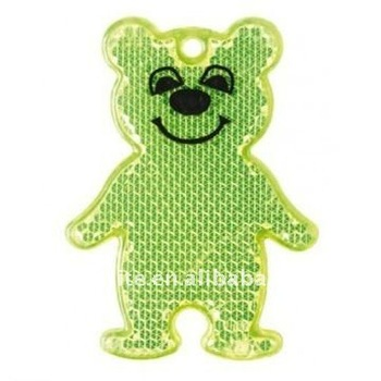 Backpack reflectors teddy bear
