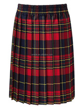 Girl's children School uniform skirt