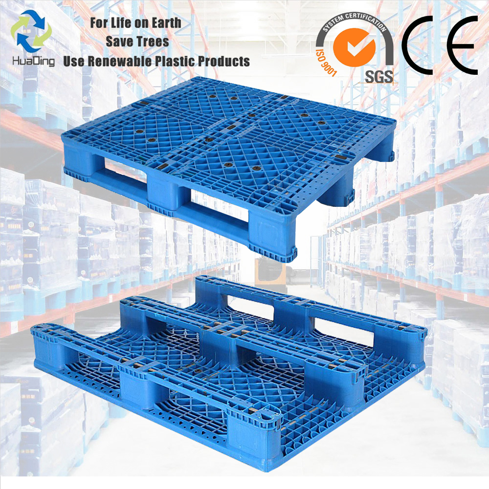 Second hand 1200X1000 racking plastic pallet price