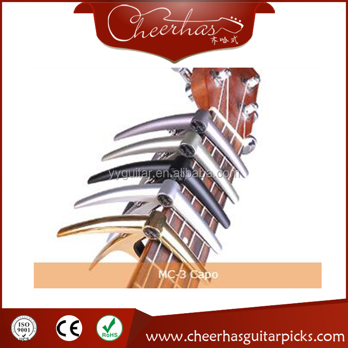 2017 The Best Custom Metal Guitar Capo Have Many Colors To Be Choosen