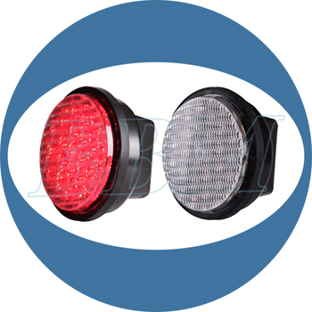 Red led light 100mm road traffic safety signal
